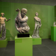 From Roma Eterna: 2,000 years of sculpture, to Charles Ray's contemporary approach