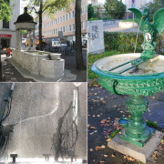 Fountains, fountains everywhere in Basel